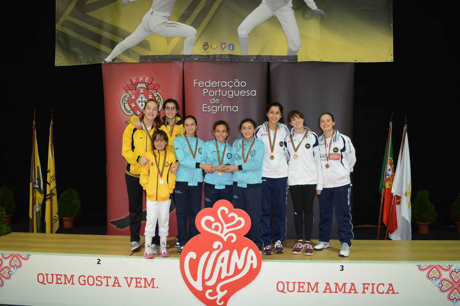 EDV no pódio do Nacional de Cadetes